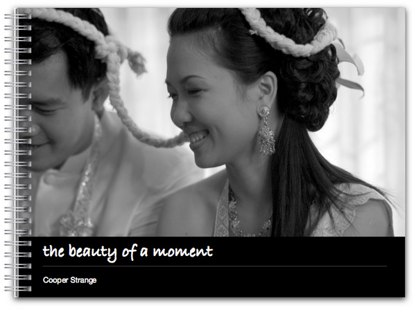 the beauty of a moment - wedding portfolio