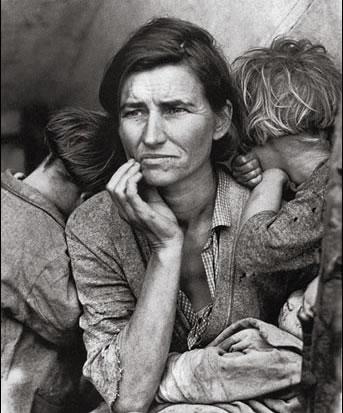 "Dorothea Lange's ""Migrant Mother"""